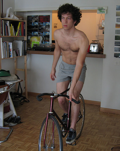 fixie at home