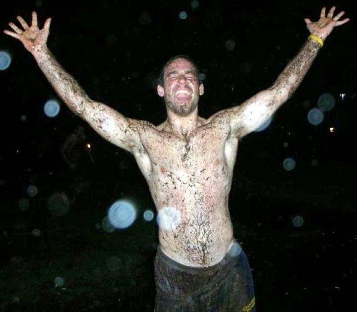 muddy hunk