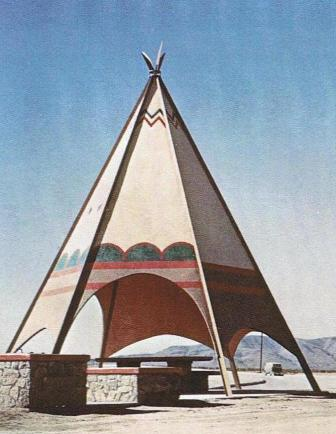 teepee rest stop