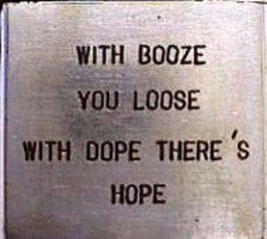 user, boozer, loser